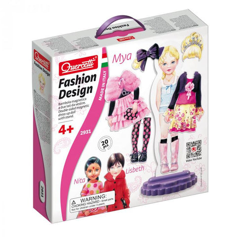 Fashion Design - Mya 20pc (Magnetic) - iPlayiLearn.co.za
