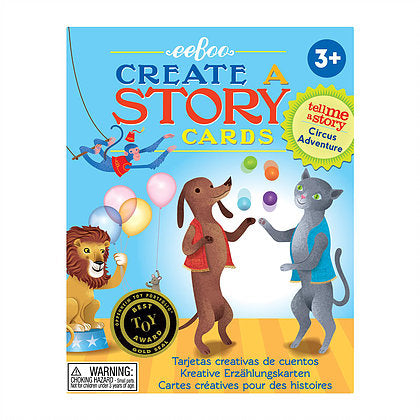 Circus Adventure: Create and A Story Cards