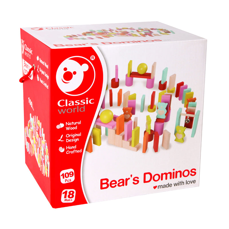 Bear's Dominoes 109pc