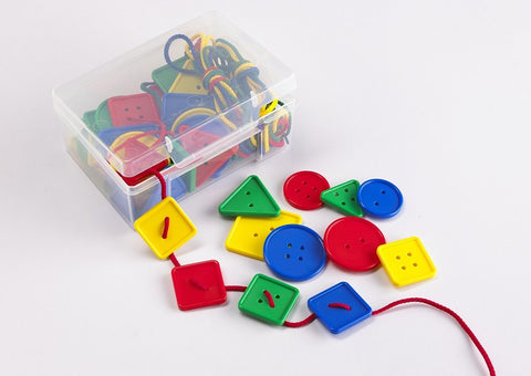 Attribute Lacing Buttons 52pc - iPlayiLearn.co.za  - 1
