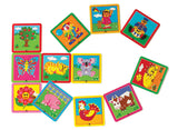 Lacing Cards 1 12pc pbag - iPlayiLearn.co.za