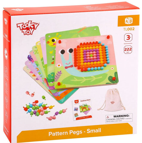 Pattern Pegs - Small 222pc