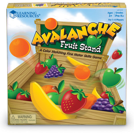 Avalanche Fruit Stand - iPlayiLearn.co.za  - 1