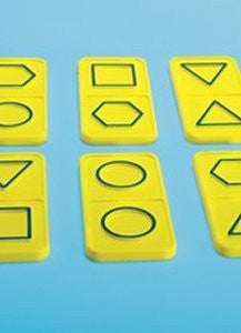 Dominoes Texture & Shape - iPlayiLearn.co.za