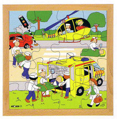 PUZZLE Accident 16pc (34cm x 34cm) - iPlayiLearn.co.za