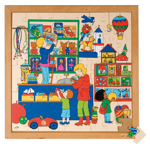 Toy Shop Puzzle 81pc (40cm x 40cm) Wood Framed