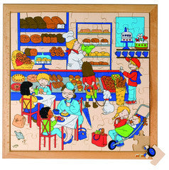 PUZZLE The Bakery 81pc (40cm x 40cm) - iPlayiLearn.co.za