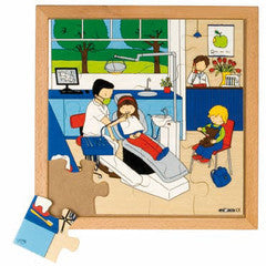PUZZLE Dentist 16pc (34cm x 34cm) - iPlayiLearn.co.za
