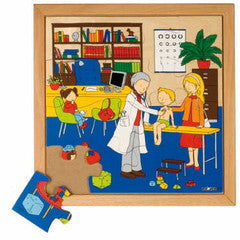 PUZZLE Doctor 16pc (34cm x 34cm) - iPlayiLearn.co.za