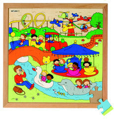 PUZZLE Amusement Park 49pc (40cm x 40cm) - iPlayiLearn.co.za