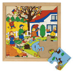 PUZZLE SEASONS Autumn 9pc (34cm x 34cm) - iPlayiLearn.co.za