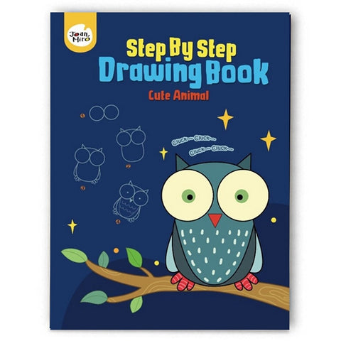 Step by Step / Drawing book (Cute Animals)