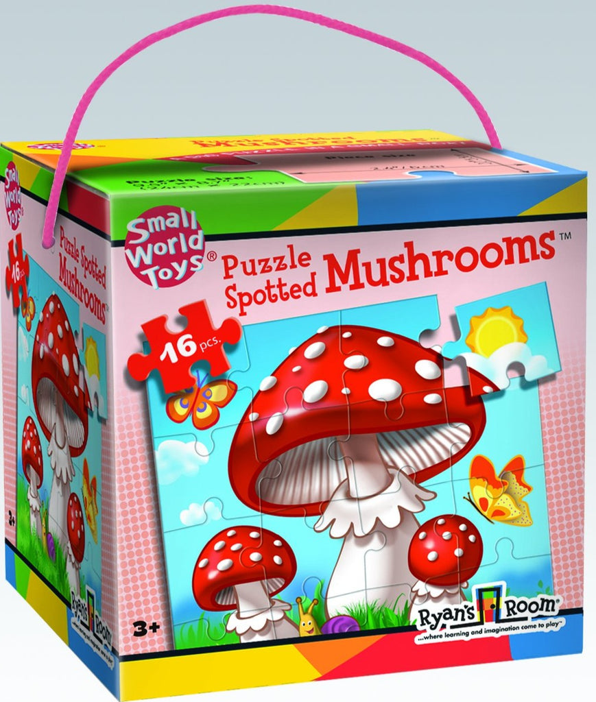 Spotted Mushrooms Puzzles 16pc
