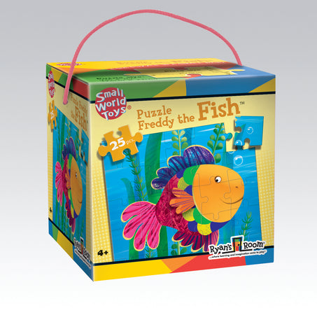 Freddy The Fish Puzzle 25pc