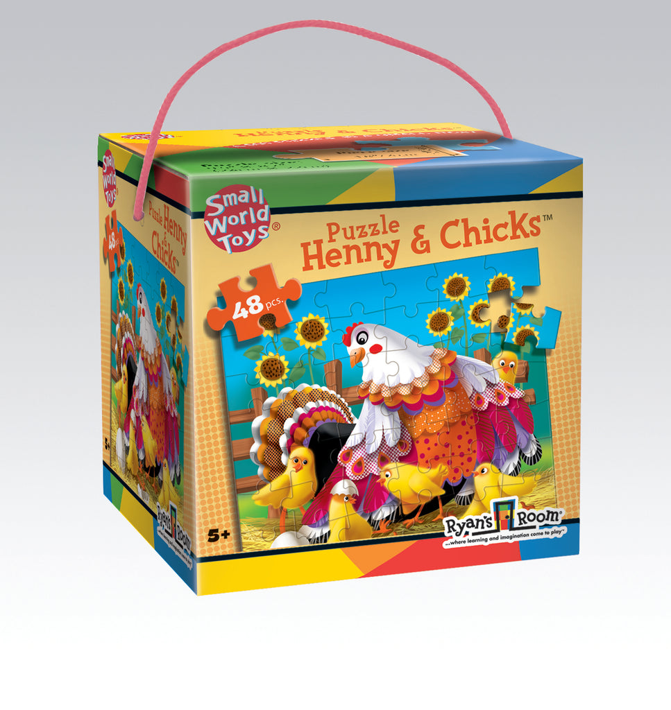 Henny & Chicks Puzzles 48pc