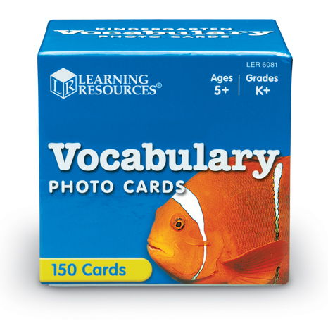 Beginning Vocabulary Photo Cards set 150pc