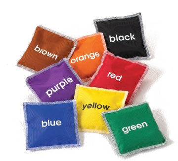 Bean Bags COLOUR 8pc pbag - iPlayiLearn.co.za