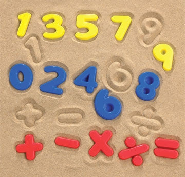 Sand Moulds NUMBERS 26pc pbag - iPlayiLearn.co.za