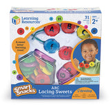 Smart Snacks  ABC Lacing Sweets - iPlayiLearn.co.za  - 1