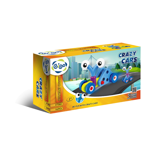 Junior Engineer - Crazy Cars 14pc