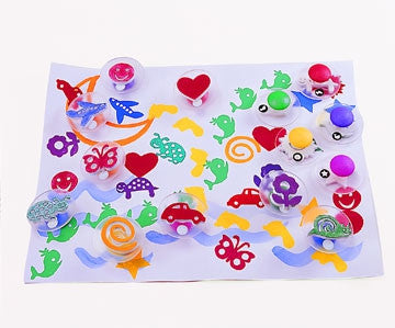 Paint Stamp IMAGINATION 14pc - iPlayiLearn.co.za