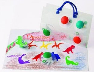 Paint Stamp DINOSAURS 6pc - iPlayiLearn.co.za