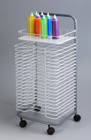 Floor Art Drying Rack - 21 Shelves