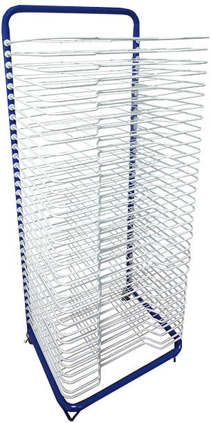 Floor Art Drying Rack - 33 Shelves