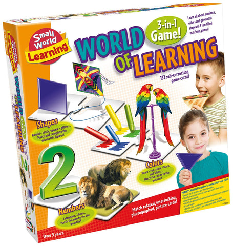 World of Learning: 3 -in-1 Game