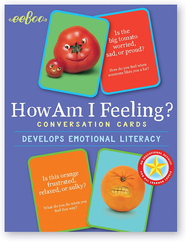 How Am I Feeling? Conversation Cards: Developing Emotional Literacy