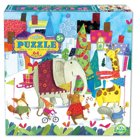 Holiday Parade Glitter Puzzle