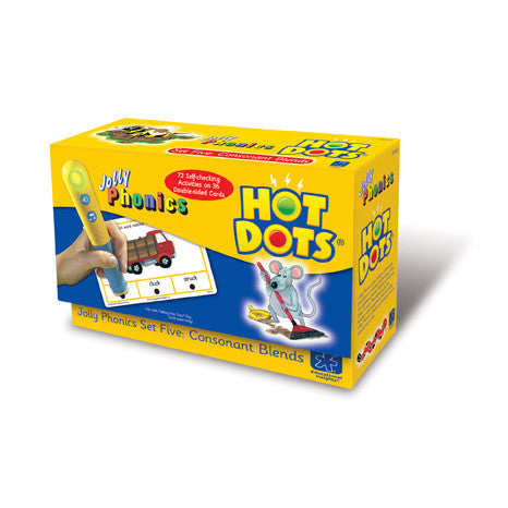 Hot Dots® Jolly Phonics Consonant Blends - iPlayiLearn.co.za  - 1