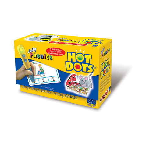 Hot Dots® Jolly Phonics Tricky Words - iPlayiLearn.co.za  - 1