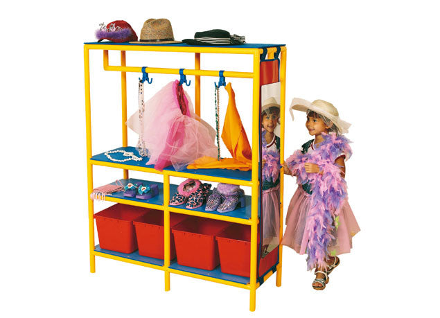 Costume Centre Frame & Bins - iPlayiLearn.co.za