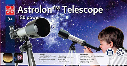 180x Astrolon™ Telescope with Tripod