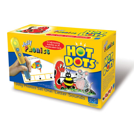 Hot Dots® Jolly Phonics Letter Sounds - iPlayiLearn.co.za  - 1