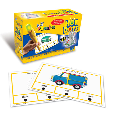 Hot Dots® Jolly Phonics First Words - iPlayiLearn.co.za  - 1