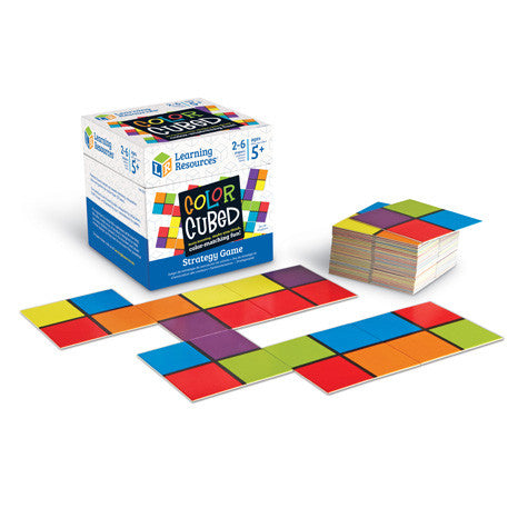 Colour Cubed Strategy Game - iPlayiLearn.co.za