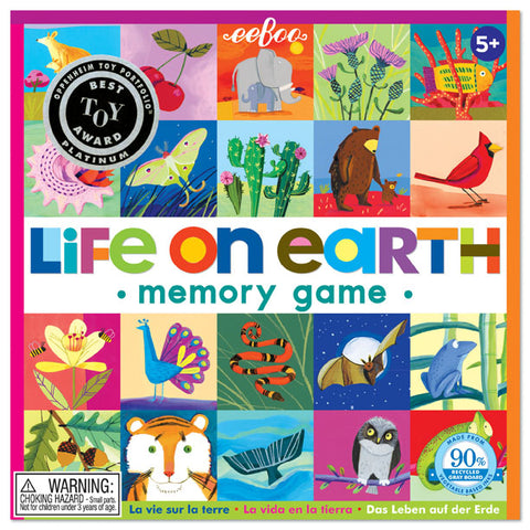 Life On Earth Matching and Memory Game