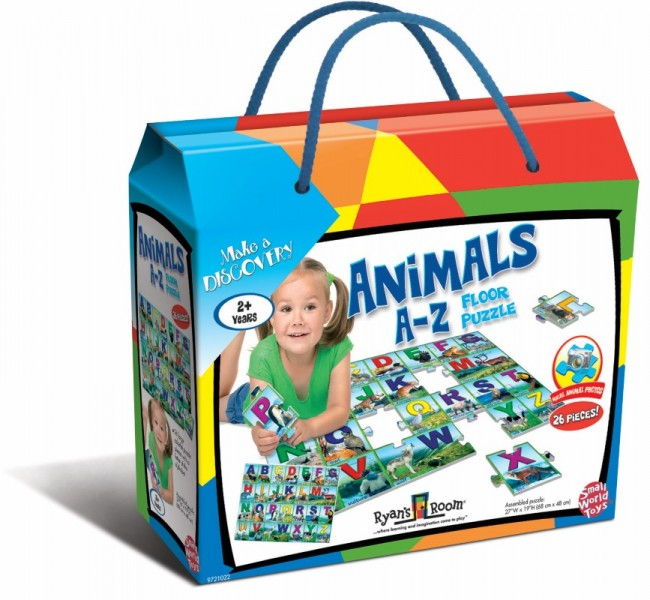 Animal A-Z Floor Puzzle 26pc