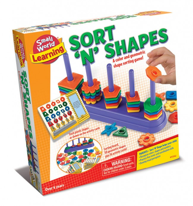 Sort' n' Shapes Game