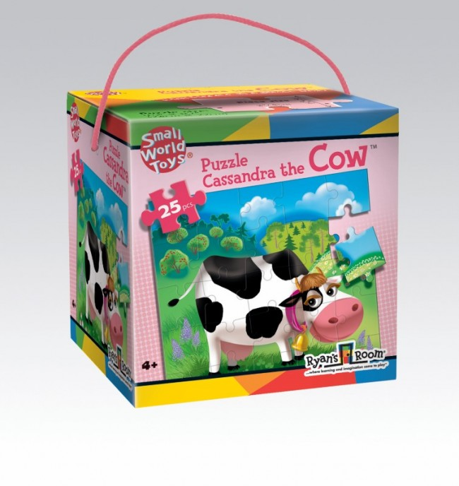 Cassandra the Cow Puzzle 25pc