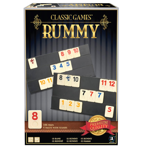 Classic Games: Rummy in Gift Box