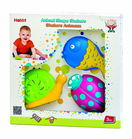 Animal Shape Shakers 3pc