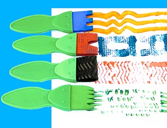 Special Paint Effect Tools Set 4pc
