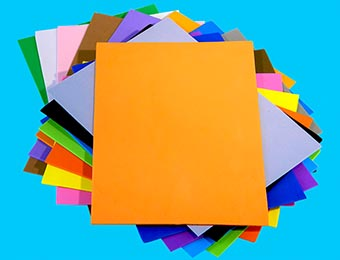 A5 Foam Sheets 13cm x 21cm 40pcs