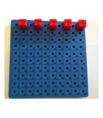 Connect-A-Cube/ Peg Activity Board Foam #1-100