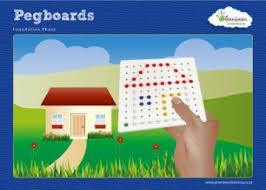 Activity Cards Pegboard 18 Activities - iPlayiLearn.co.za