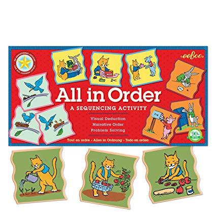 All in Order: A Sequencing Activity