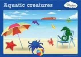 Activity Cards Aquatic Counters - iPlayiLearn.co.za